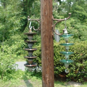 Bird Feeder Insulators