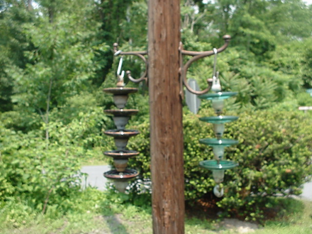 Bird Feeder Insulators Image