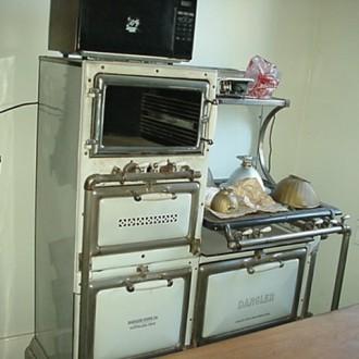 Dangler gas stove