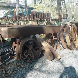 Iron troughs