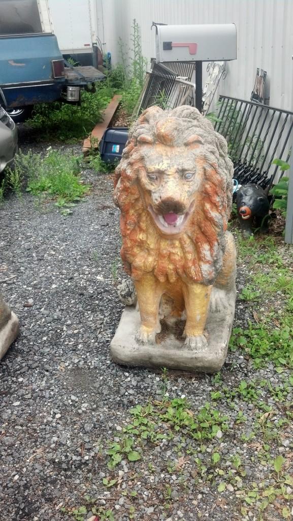 Concrete Lions Image