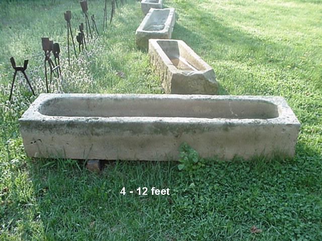 Stone troughs Image