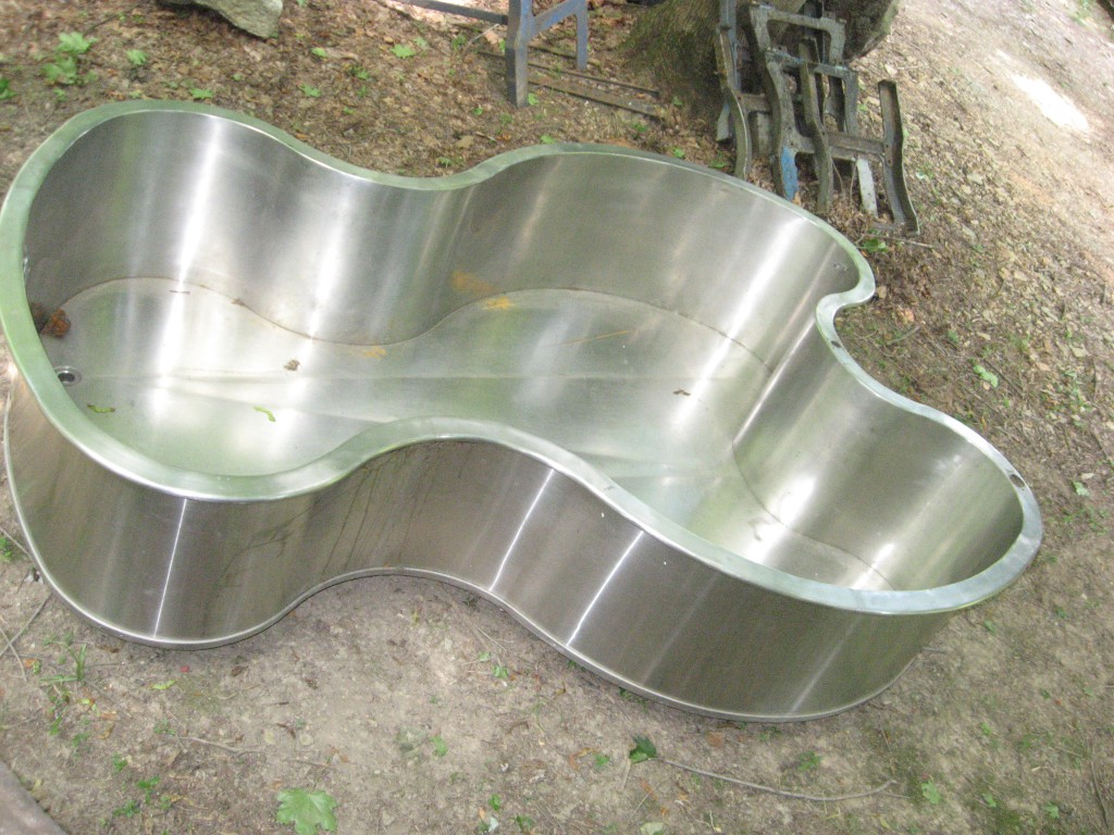 Hydrotherapy tub stainless steel Image