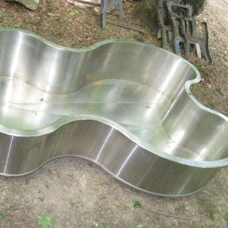 Hydrotherapy tub stainless steel