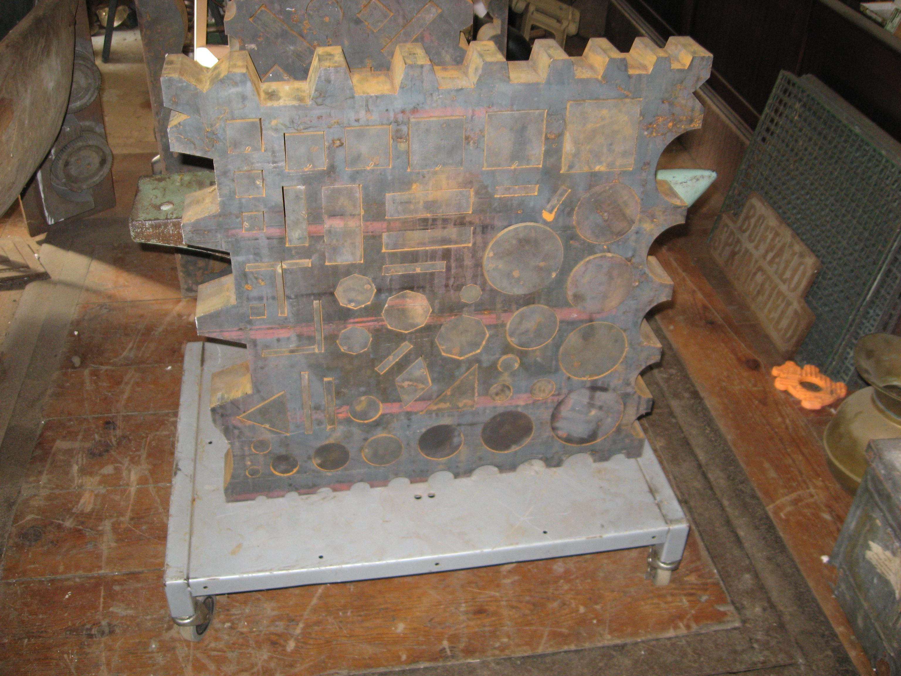 Swage Block New Waterjet Cut Found Objects Of Industry