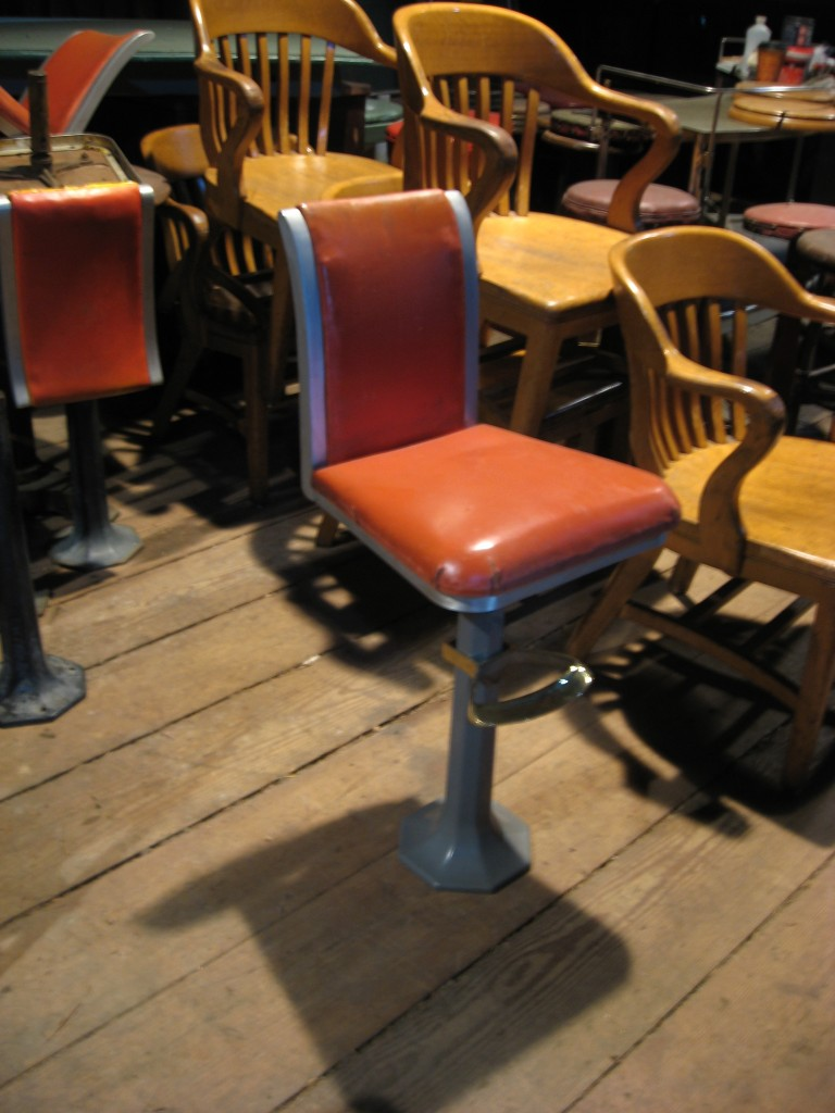 Diner or bar stools Horn and Hardart Image
