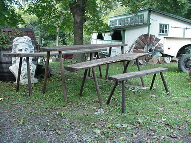 Butchers benches Image