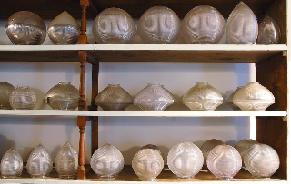 Holophane stalactites Image