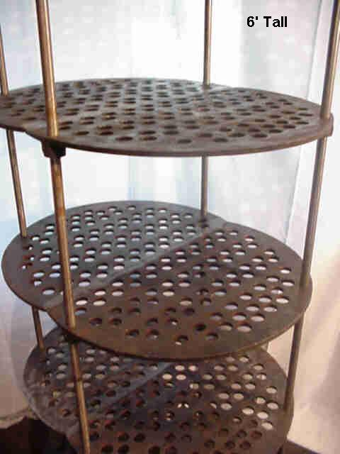 Perforated shelf found object art Image