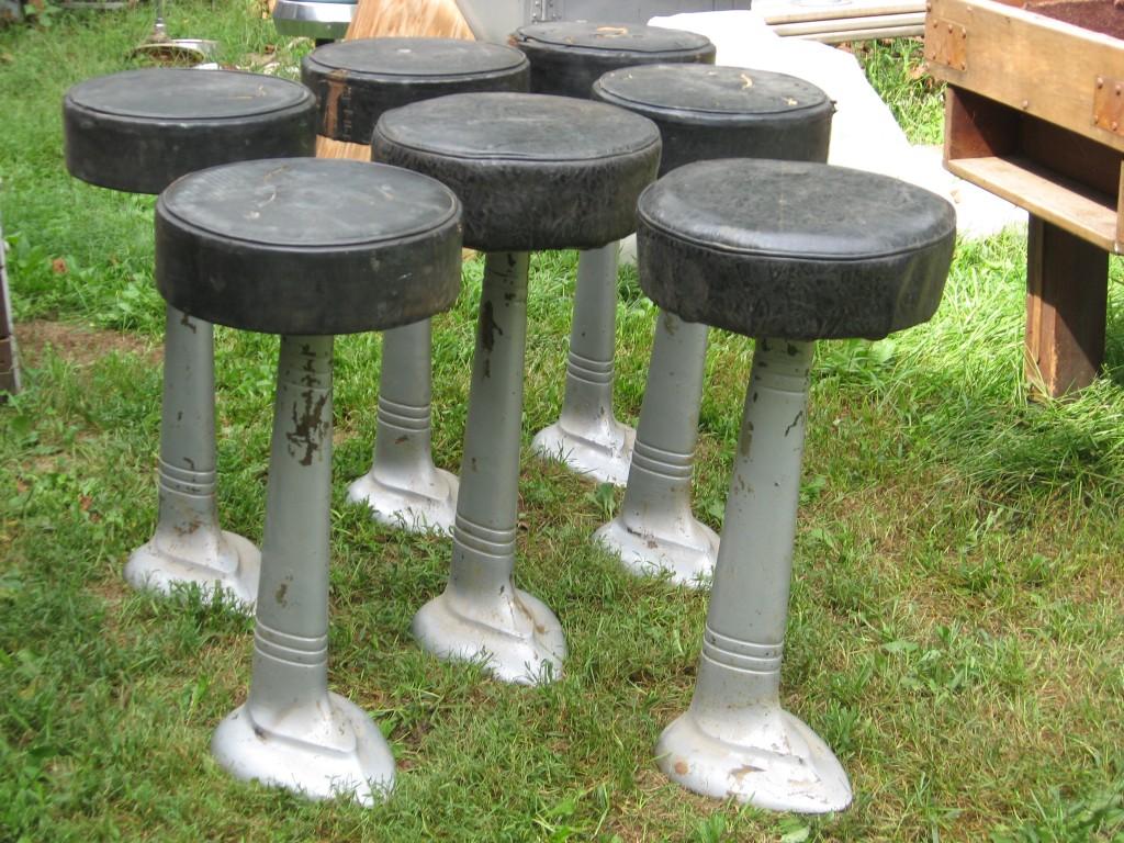 7 diner or bar stools Image