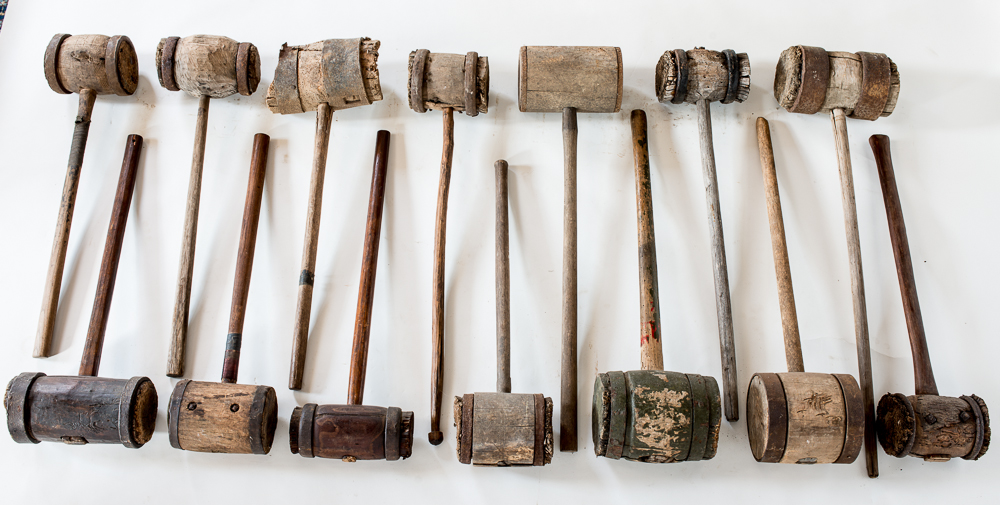 """Large wooden mallets or """"Commanders"""" Image"""